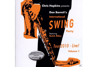 Dan's International Swing Party Barrett - International Swing Party Tour 2010-Live! Vol.1 [CD]