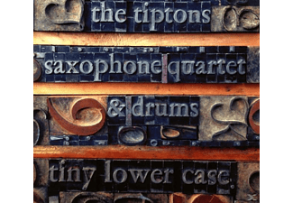 Tiptons Sax Quartet & Drums - Tiny Lower Case [CD]