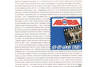 Allotria Jazz B - Good Times, 69-89 - (CD)