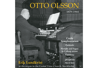 Erik Lundkvist - Credo Symphoniacum and other organ works - (CD)