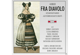 ORCH.D.BOLSHOI THEATERS - Fra Diavolo - (CD)