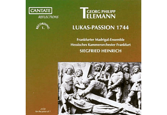 Siegfried Heinrich - Lukas-Passion 1744 - (CD)