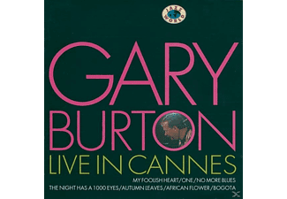 Gary Burton - Live In Cannes - (CD)