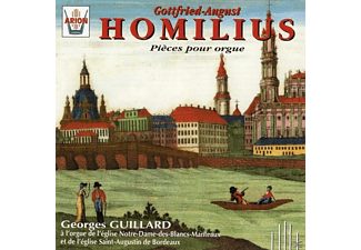 Georges Guillard - G.A.Homilius-Pieces Orgue - (CD)