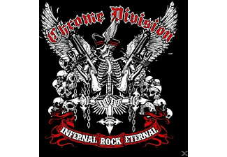 Chrome Division - Infernal Rock Eternal [Grey Vinyl] - (Vinyl)