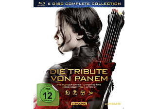 Die Tribute von Panem (Complete Collection) - (3D Blu-ray (+2D))