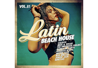 VARIOUS - Latin Beach House Vol.1 - (CD)
