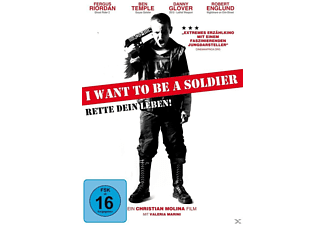I WANT TO BE A SOLDIER - RETTE DEIN LEBEN! - (DVD)
