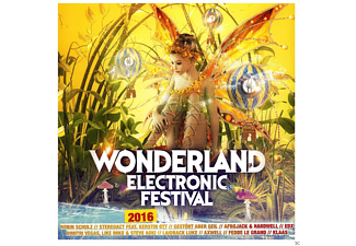 VARIOUS - Wonderland Electronic Festival 2016 - (CD)