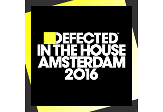 VARIOUS - Defected In The House Amsterdam 2016 - (CD)