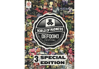 VARIOUS - Defqon.1 Festival 2012 (Dvd / Brd /Cd) - (DVD + Blu-ray + CD)