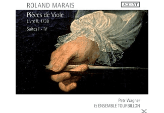Petr Wagner, P./Ensemble Tourbillon Wagner - Pieces De Viole Livre II (1738) - (CD)