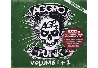 VARIOUS - Aggropunk Vol.1+2 - (CD)