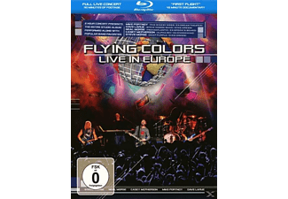 Flying Colors - Live In Europe - (Blu-ray)