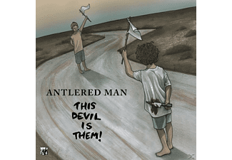 Antlered Man - This Devil Is Them! - (CD)