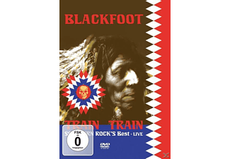 Blackfoot - Live-Train Train-Southern Rock's Best - (DVD)