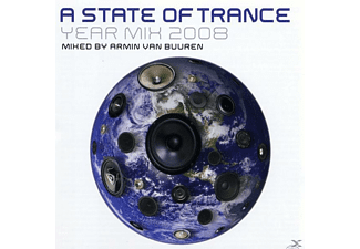 VARIOUS, Armin Van Buuren - A State Of Trance Yearmix 2008 - (CD)