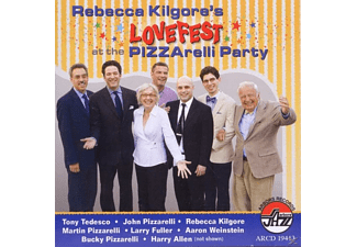 Rebecca Kilgore - Rebecca Kilgore's Lovefest At The Pizzarelli Party [CD]