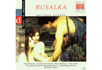 VARIOUS, Sb, Adam, Apelt, Mitzewa - Rusalka (Qs, Deutsch) - (CD)