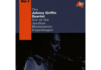 Johnny Quartet Griffin - At The Jazzhus Montmartre Vol.1 [CD]