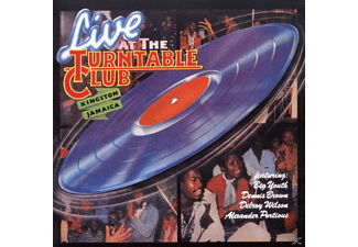 VARIOUS, Brown,Dennis & Wilson,Delroy - Live At The Turntable Club - (CD)