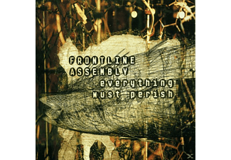 Front Line Assembly - Everything Must Perish [CD]