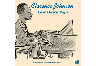 Clarence Johnson - Low Down Papa - (CD)