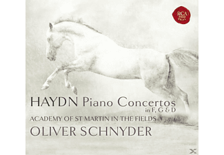 Oliver Schnyder, Andrew Watkinson, Academy of St. Martin in the Fields - Piano Concertos In F, G & D [CD]