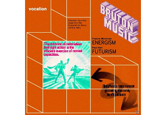 Monkman,Francis/Hart,Paul - Bruton Music: Energism & Futurism - (CD)