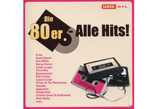 VARIOUS - Alle Hits!die 80er - (CD)