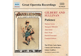 GILBERT/SULLIVAN, Green/Mitchell/D'Oyly Carte - Patience - (CD)