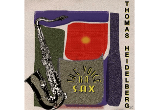 Thomas Heidelberg - The Voice Is A Sax - (CD)