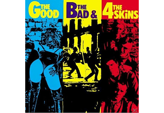 The 4-skins - The Good The Bad & The 4 Skins - (CD)