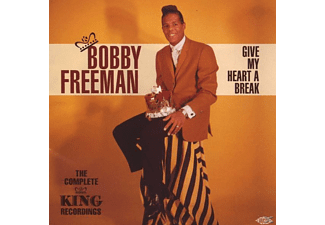 Bobby Freeman - Give My Heart A Break-Complete King Recordings [CD]