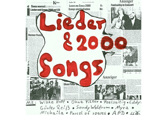 VARIOUS - Lieder + 2000 Songs [CD]