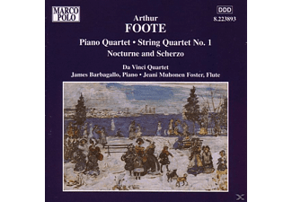 Da Vinci - Piano Quartet String Quartet No. 1 - (CD)
