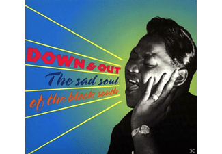 VARIOUS - Down & Out-The Sad Soul Of The Black South [CD]