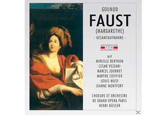 CHOEURS ET ORCH.DE GRAND OPERA PARIS - Faust - (CD)