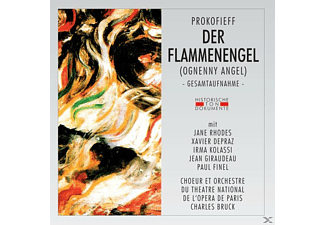 CHOEUR ET ORCH. DU THEATRE NATIONAL DE L'OPERA DE - Der Flammenengel (Ognenny Angel) - (CD)