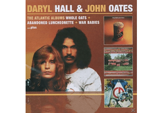Daryl Hall - The Atlantic Albums - Whole Oats/Abandoned Luncheonette/War - (CD)