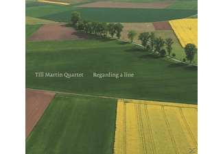 Till/quartet Martin - Regarding A Line - (CD)
