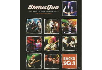 Status Quo - Back2SQ.1 - The Frantic Four Reunion 2013 - Live At Wembley Arena - (Blu-ray + CD)