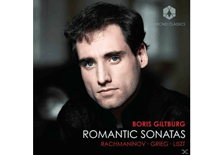 Boris Giltburg - Romantic Sonatas - (CD)