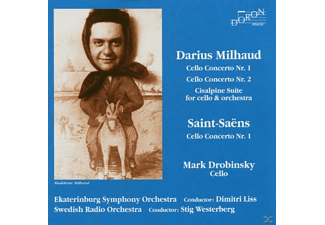 Drobinsky Mark   Milhaud :concertos - Drobinsky Mark Milhaud :Concertos - (CD)