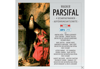 VARIOUS - Parsifal-Mp 3 (4 Ga) - (MP3-CD)