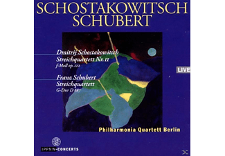 Philharmonia Quartett Berlin - Schostakowitsch/Schubert - (CD)