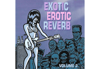 VARIOUS - Exotic Erotic Reverb Vol.2 - (CD)