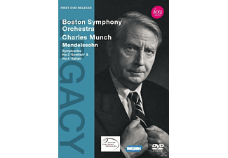 Charles/boston So Munch - Sinfonien 3+4 - (DVD)