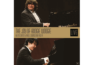 Keito Saito, Axel Zwingenberger - The Joy Of Boogie Woogie [CD]