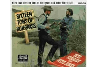 STANLEY,PETE & JONES,WIZZ - 16 Tons Of Bluegrass - (CD)